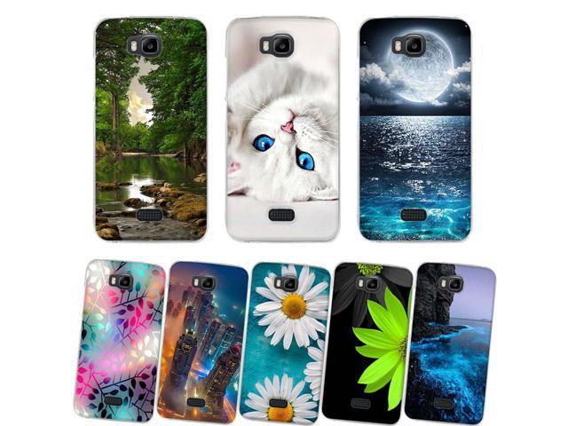 new styles 1bd22 bdfcd For Huawei Y541 u02 Phone Case Silicone Soft TPU Back Cover for Huawei  Honor Bee Cases 3D Cute Fundas for Huawei Y5C 4.5'' Coque - Newegg.com