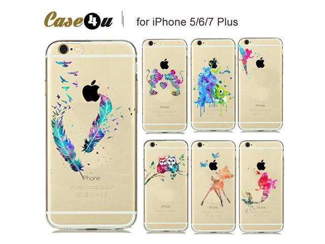 the latest 964d5 52953 Watercolor Art Snow White Cinderella Mermaid Silicone Case for coque iphone  7 8 6s plus 6plus 5s SE Phone Cases Mickey Mouse - Newegg.ca
