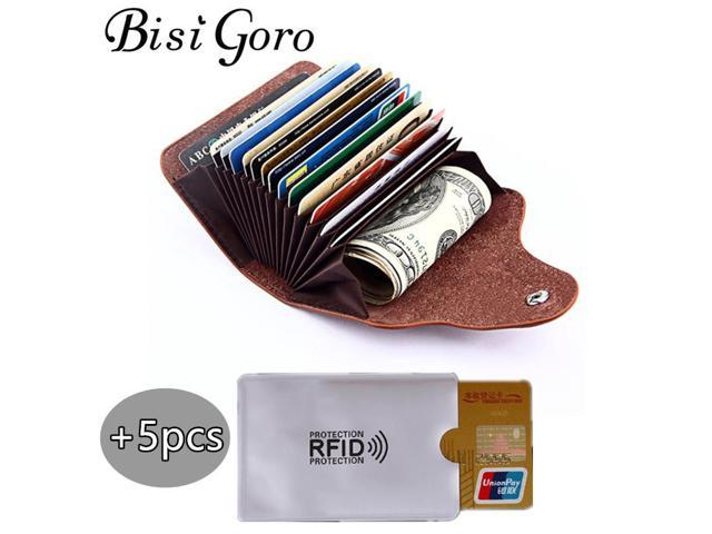 Bisi goro 2018 men and women genuine leather unisex business card bisi goro 2018 men and women genuine leather unisex business card holder wallet bank credit card colourmoves