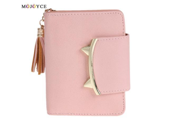 720e40b21a3 2017 Korean Cute Cat Anime Leather Trifold Slim Mini Wallet Women Small  Clutch Female Purse Coin Card Holder Dollar Bag - Newegg.com