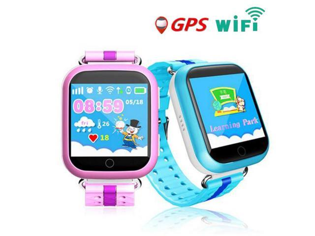 b2b832b291a GPS Smart Watch Q750 Q100 baby watch with Wifi touch screen SOS Call  Location Device Tracker