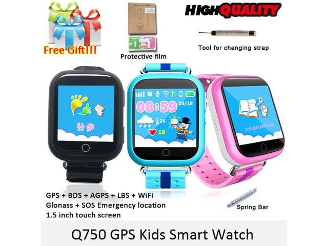 80df45ef3c1 GPS Smart Watch Q750 Q100 Baby Smart Watch With 1.54inch Touch Screen SOS  Call Location Device Tracker for Kid Safe PK Q50 Q90