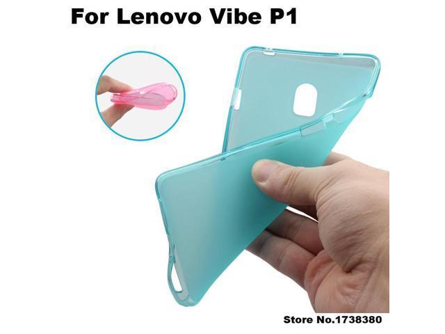Lenovo Vibe P1 Case Cover Matte Tpu Soft Back Cover Phone Case For