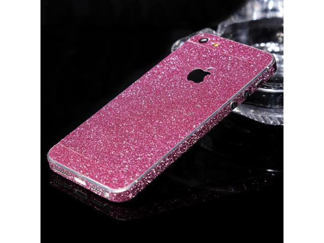 3c0e8e76e48 Luxury Glitter Decal Sticker Case Bling Phone Cover Silver Gold Pink Thin  Carcasa Coque Funda Capa