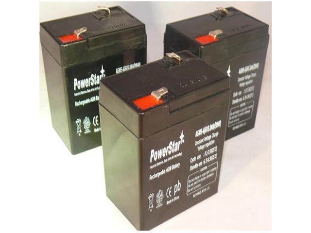PowerStar-Replacement Yuasa NP5-12-YUASA NP5-12 12V 5AH Sealed Lead Acid Battery 12VOLT