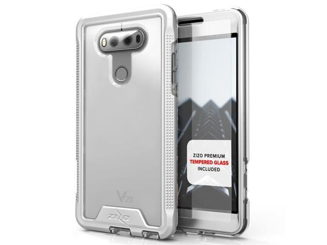 release info on 39a61 3a1a2 Zizo IONC-LGV20-SLCL LG V20 Case Ion Series with Free for LG V20 2016  Release, Silver & Clear - Newegg.ca