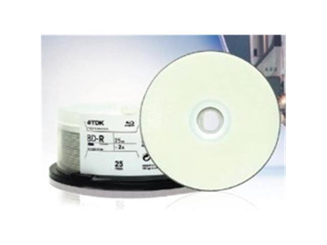 image about Printable Blu Ray Discs referred to as Tdk TDK48966 Blu-ray Disc White IJ Expert Hub Printable - Newegg.ca