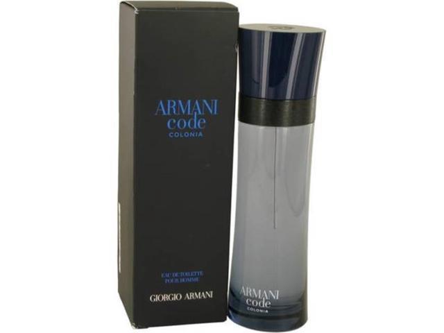 Giorgio Armani 536680 43 Oz Code Colonia Perfume For Mens