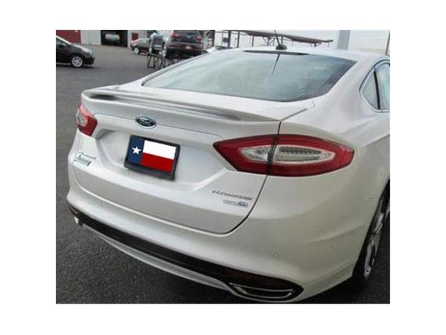 Dar Spoilers Abs 771p 2017 And Up Ford Fusion Factory Post No Light Spoiler Painted