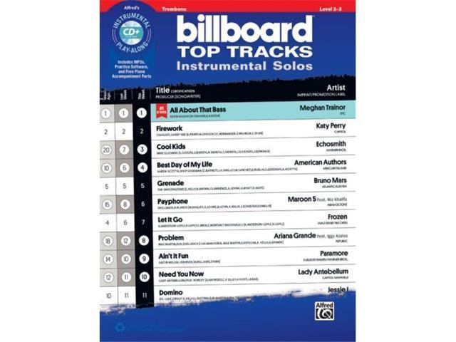 Alfred Music 00-44418 Billboard Top Tracks Instrumental Solos - Trombone  Book & CD - Newegg com