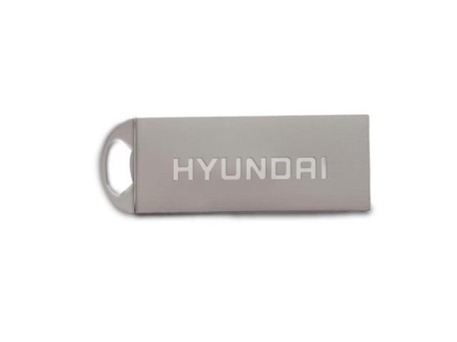 7d1af42d435751 Hyundai Technology MHYU2BK32G Bravo USB 2.0 Flash Drive 32GB Metal Keychain