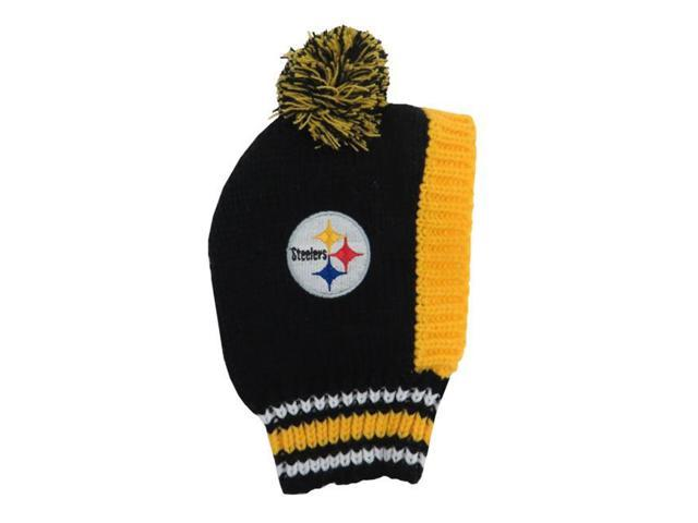 ... cheapest little earth 320125 stlr l nfl team pet knit hat pittsburgh  steelers 8ea6e a244d ... f4eed0bc28a2