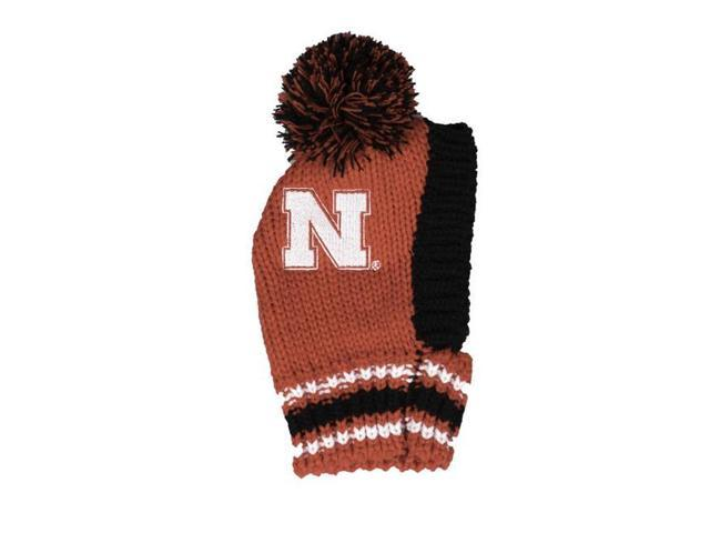 sale retailer 1a5a6 7d17c ... discount little earth 120125 uneb s ncaa university of nebraska team  pet knit hat eb027 3d1cb