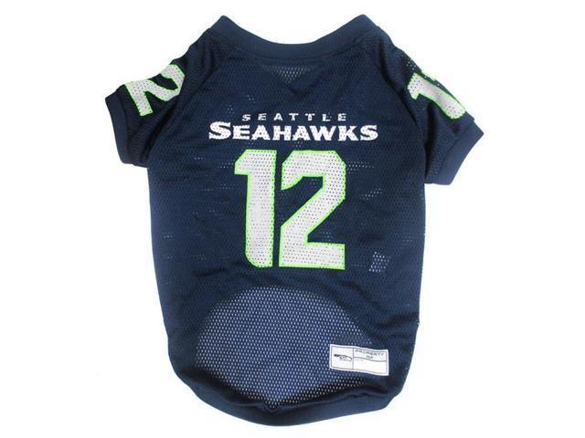Pets First 849790012899 Seattle Seahawks Dog Jersey - 12th Man - Small e34a7e8c3