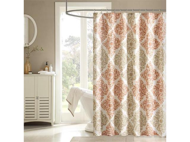 Madison Park MP70 4624 72 X 96 In Claire Printed Shower Curtain
