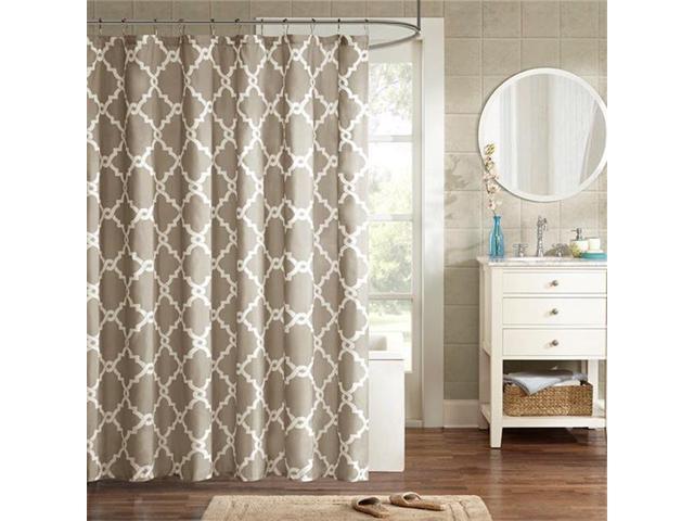 Madison Park MPE70 550 72 X 96 In Merritt Shower Curtain