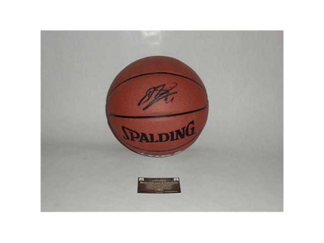 4c4fdb5ebf6 Memorabilia Lane DIRKNAB2 Dirk Nowitzki Autographed Basketball ...