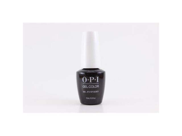 44ab18149 OPI 295233 0.5 oz Shh Its Top Secret Gel Nail Color for Women ...
