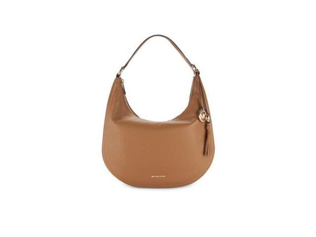 1de4c296575b5 Michael Kors Lydia Leather Shoulder Bag - Acorn - 30F7GL0L3L-532 ...