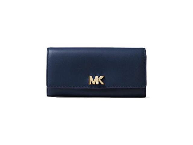 d4157b210c34 Michael Kors Mott Large Leather Wallet - ADMIRAL - 32T7GOXE3L-414