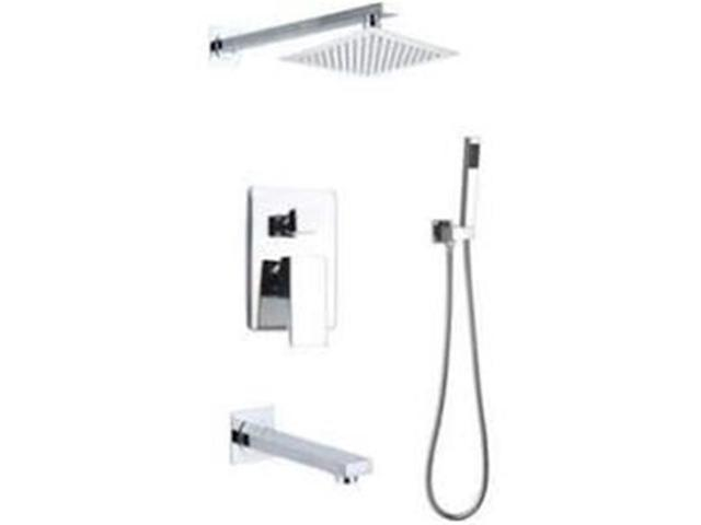 Infurniture F S1014gu1 Ch Volume Control Tub And Shower Faucet