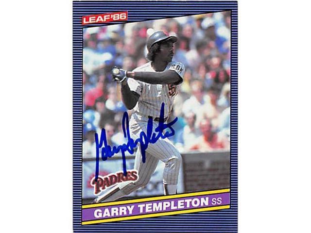 Autograph 123081 San Diego Padres 1986 Leaf No 133 Garry