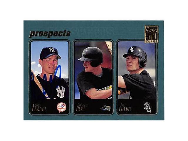 Autograph 123496 New York Yankees Ft 2000 Topps Prospects
