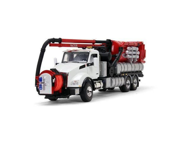First Gear 50-3263WR Sewer Cleaner 1-50 Diecast Model for Kenworth T880  with Vactor 2100 Plus PD Combination - Newegg com