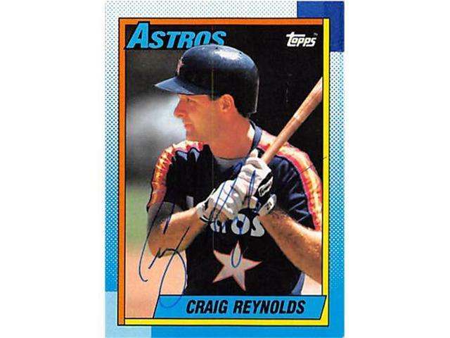 cheap for discount a78c5 e03d5 Autograph 122624 Houston Astros 1990 Topps No. 637 Craig Reynolds  Autographed Baseball Card - Newegg.com