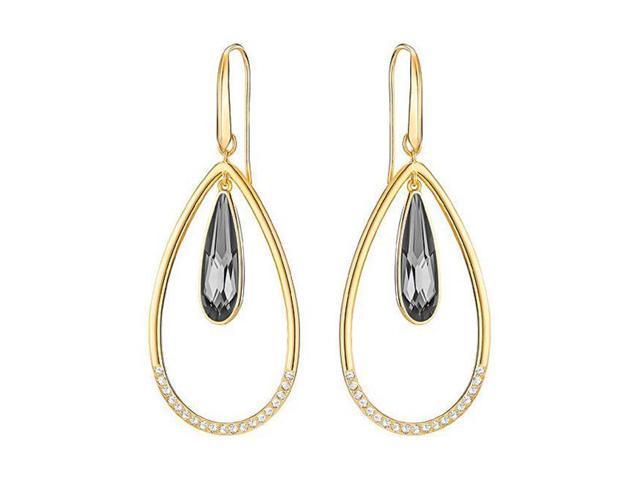 084422786 Swarovski Lisanne Hoop Pierced Earrings - 5369115 - Newegg.com