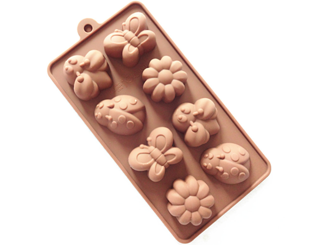 Silicone Ice Tray Molds Candy Molds, Chocolate Molds, Soap Molds Candy  Making Kit Bee, Butterfly, Ladybug, Flower - Newegg com