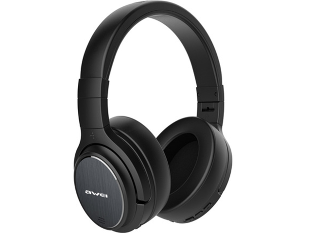Awei A950bl Wireless Bluetooth Headset Noise Reduction Stereo 2160 Hours Standby 40 Hours Of Playback 1050 Battery Life Foldable Sound System Sports Headphones Newegg Com