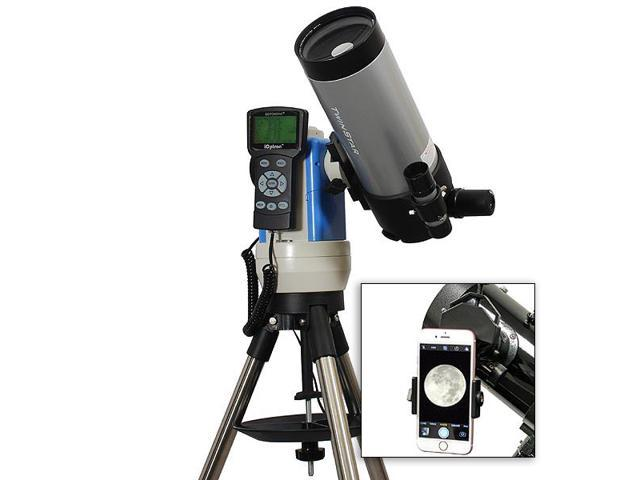 Silver mm ioptron computerized gps go to telescope with