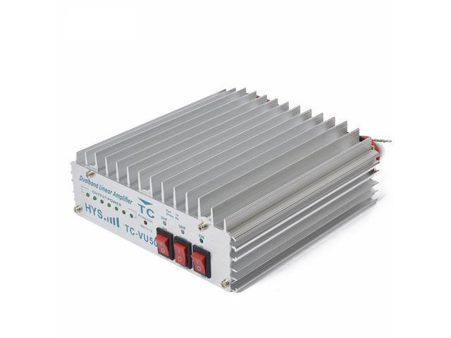 Dual band 136-174 and 400-480MHz Portable radio Power Amplifier for ham  radio transceiver Walkie Talkie - Newegg com