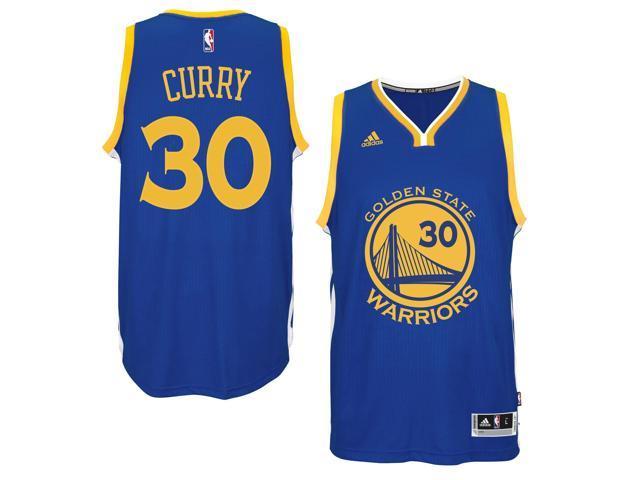 low priced 36452 902f2 Adidas NBA Golden State Warriors Stephen Curry #30 Blue Road Adult Swingman  Jersey - Medium - Newegg.com