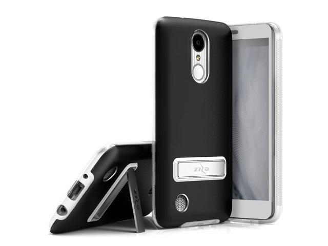 promo code c3bf7 d7326 Zizo ELITE Series compatible with LG Aristo Case with Tempered Glass Screen  Protector, Kickstand, Shockproof Protection LG Fortune BLACK - Newegg.com