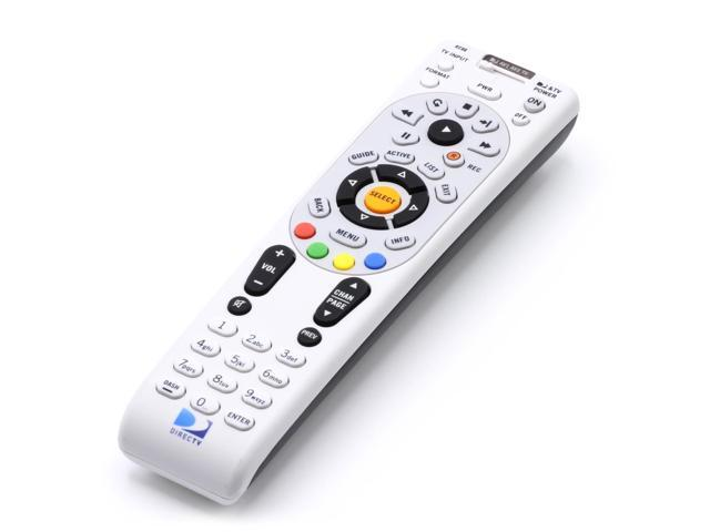 directv now at t replacement remote control kit with extra long rh newegg com Program DirecTV Remote Volume directv rc23 remote codes