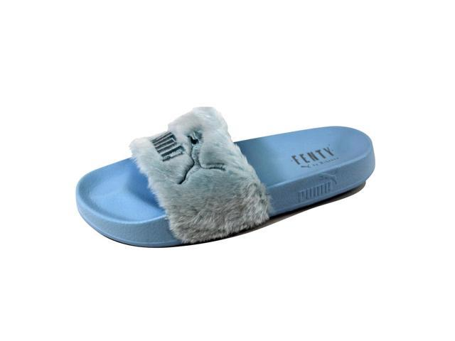 best website adfc1 196ba Puma Women's Fenty Fur Slide Black/Opal-White-Asteroid Dust 365772 03 Size  7.5 - Newegg.com