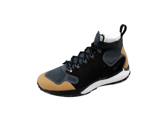 59fa3735be67 Nike Men s Air Zoom Talaria Mid Flyknit Premium Anthracite Black-Vachetta  Tan 875784-