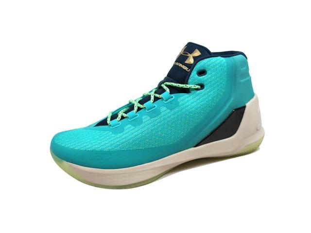 9b16b30b6f9c Under Armour Men s Curry 3 Neptune Sable Reign Water 1269279-370 Size 13
