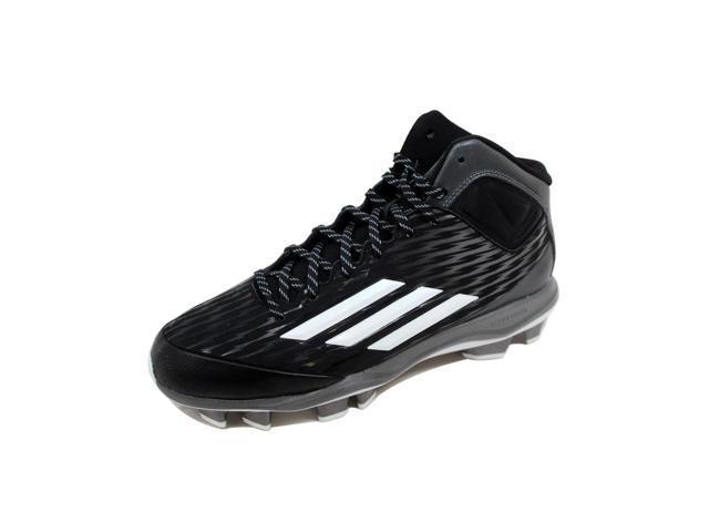 online store 6e819 58da9 Adidas Men s Power Alley 3 TPU Mid Black White-Tech Grey S84714