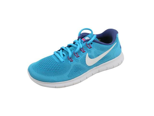 d166eba8a502 Nike Women s Free RN 2017 Sunset Glow Volt-Hot Punch 880840-400 Size