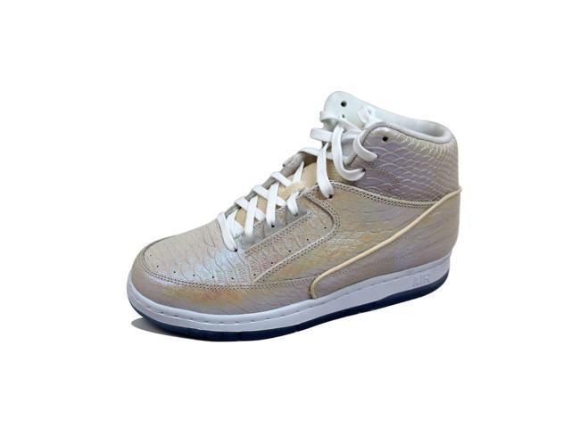 huge selection of 8a720 96ae8 ... Nike Men s Air Python Premium Sail Metallic Gold 705066-102 Size 7.5 ...