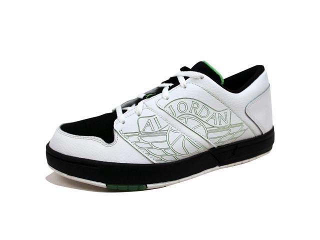 531f4b8301218a Nike Grade-School Air Jordan Nu Retro 1 Low White Green Bean-Black