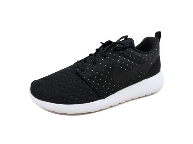 hot sales 09e9f 86576 Nike Men s Roshe One 1 SE Black Black-Volt 844687-001 Size 9.5