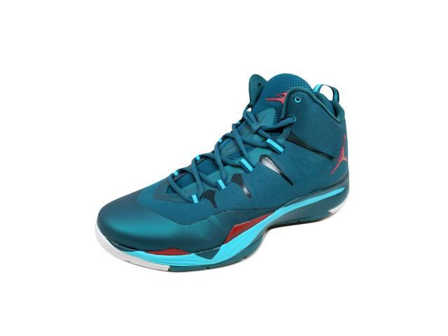 71179fc85270 Nike Men s Air Jordan Super Fly 2 Dark Sea Gym Red-Gamma Blue ...