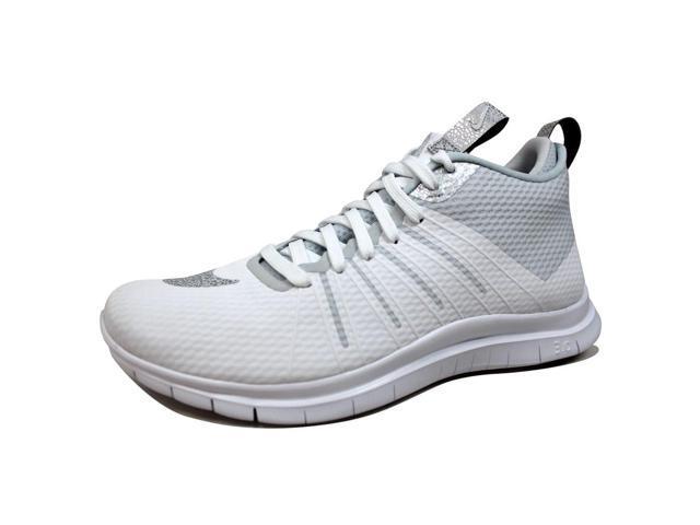920d7a8e00020 Nike Men s Free Hypervenom 2 FS White Metallic Silver 805890-101 Size 8