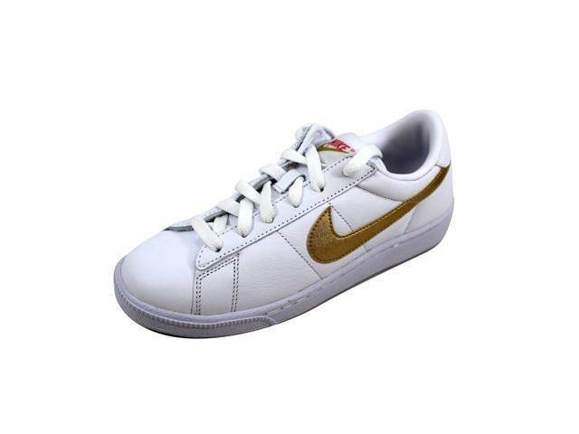 promo code ba783 b20db Nike Womens Tennis Classic WhiteMetallic Gold-Desert nan 312498-171 Size 6