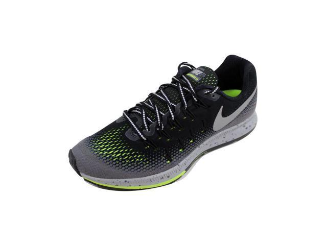 453e7b0f0588 Nike Women s Air Zoom Pegasus 33 Shield Black Metallic Silver nan  849567-001 Size