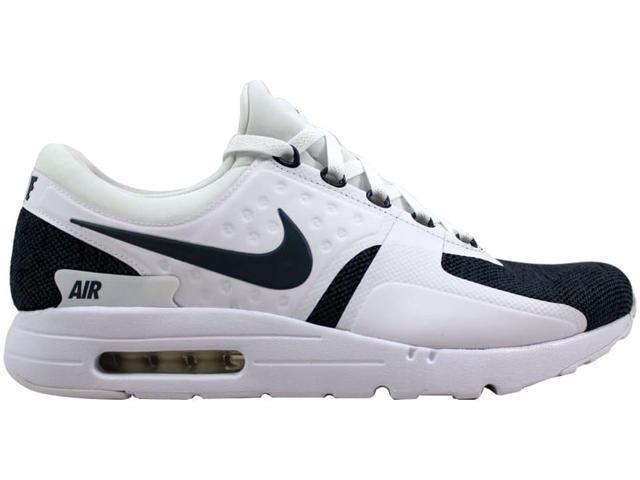 Nike Men's Air Max Zero SE White/Armory Blue-Black 918232-100 Size 8.5